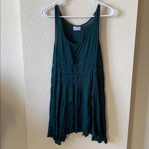 Teal Free People Dress